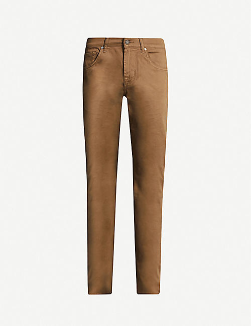 7 FOR ALL MANKIND Slimmy Luxe Performance Sateen slim jeans