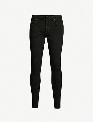 7 FOR ALL MANKIND Ronnie Luxe Performance skinny-fit tapered jeans