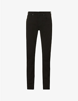 7 FOR ALL MANKIND: Slimmy Tapered Luxe Performance Plus slim-fit tapered jeans