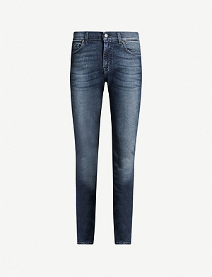 7 FOR ALL MANKIND Ronnie Luxe Performance skinny jeans