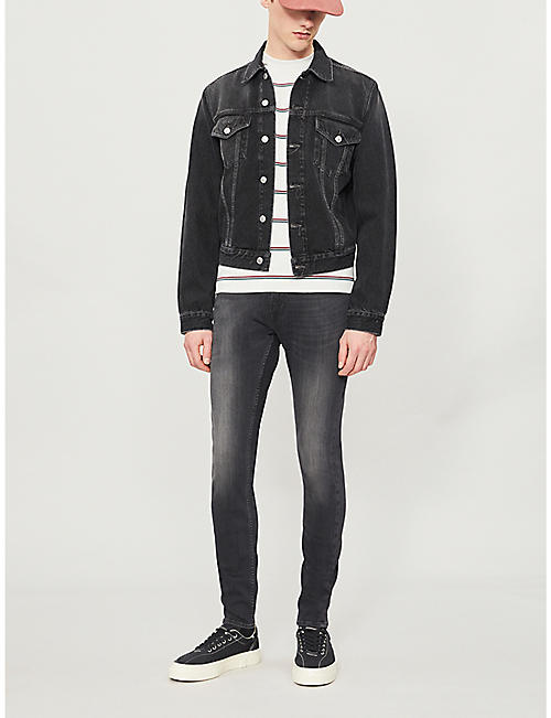 7 FOR ALL MANKIND Ronnie Tapered Luxe Performance Plus skinny jeans