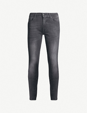 7 FOR ALL MANKIND Ronnie Luxe Performance slim-fit tapered jeans