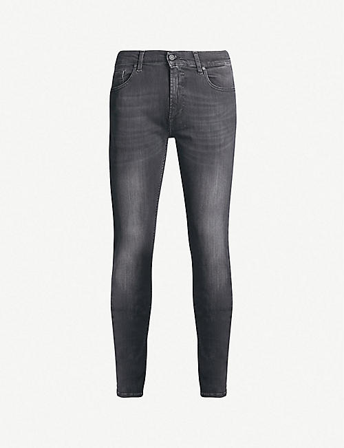 7 FOR ALL MANKIND:Ronnie Tapered Luxe Performance Plus 紧身牛仔裤