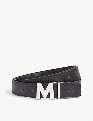 MCM: Claus M Visetos and leather reversible belt