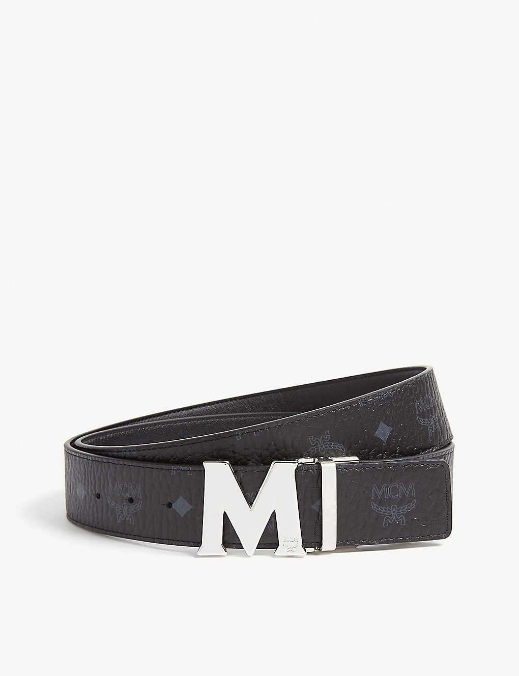 Mcm Claus M Visetos And Leather Reversible Belt Selfridges Com Safe shipping and easy returns. claus m visetos and leather reversible belt