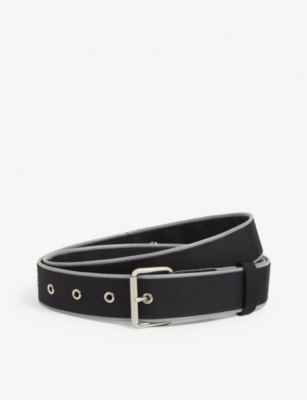 ADER ERROR Piped webbing belt