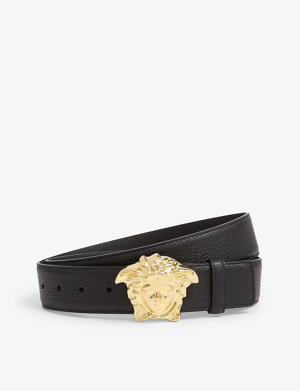 cf29b72c93 VERSACE - Palazzo Medusa leather belt | Selfridges.com