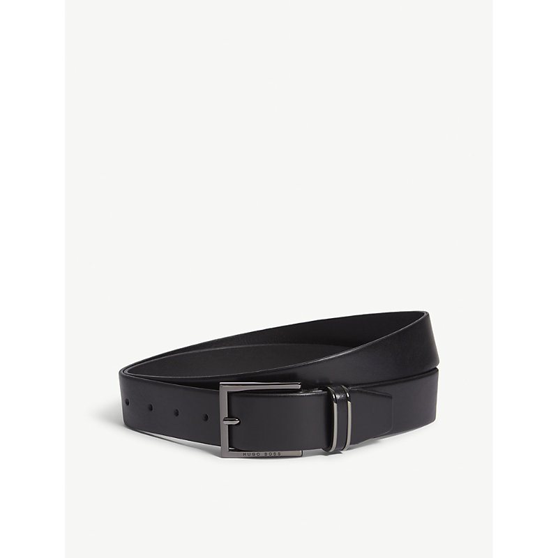HUGO BOSS | Canzion Smooth Leather Belt | Goxip