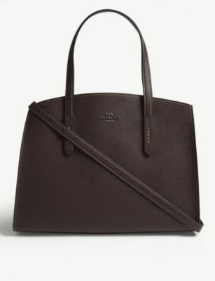 COACH Charlie leather shoulder bag