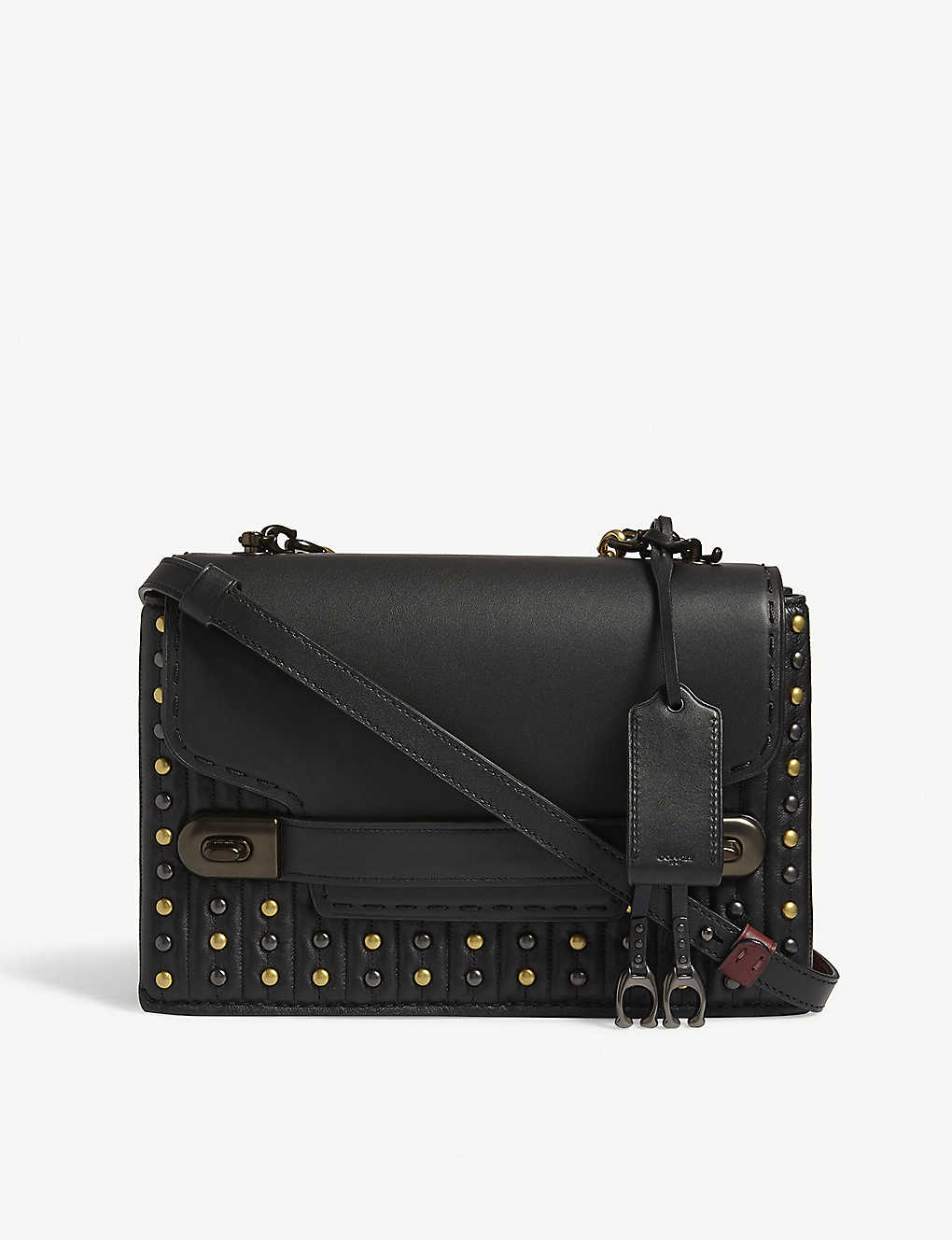 3125301e COACH - Swagger chain quilted leather cross-body bag   Selfridges.com