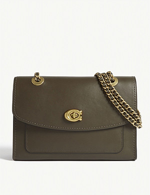 COACH Parker leather cross-body bag