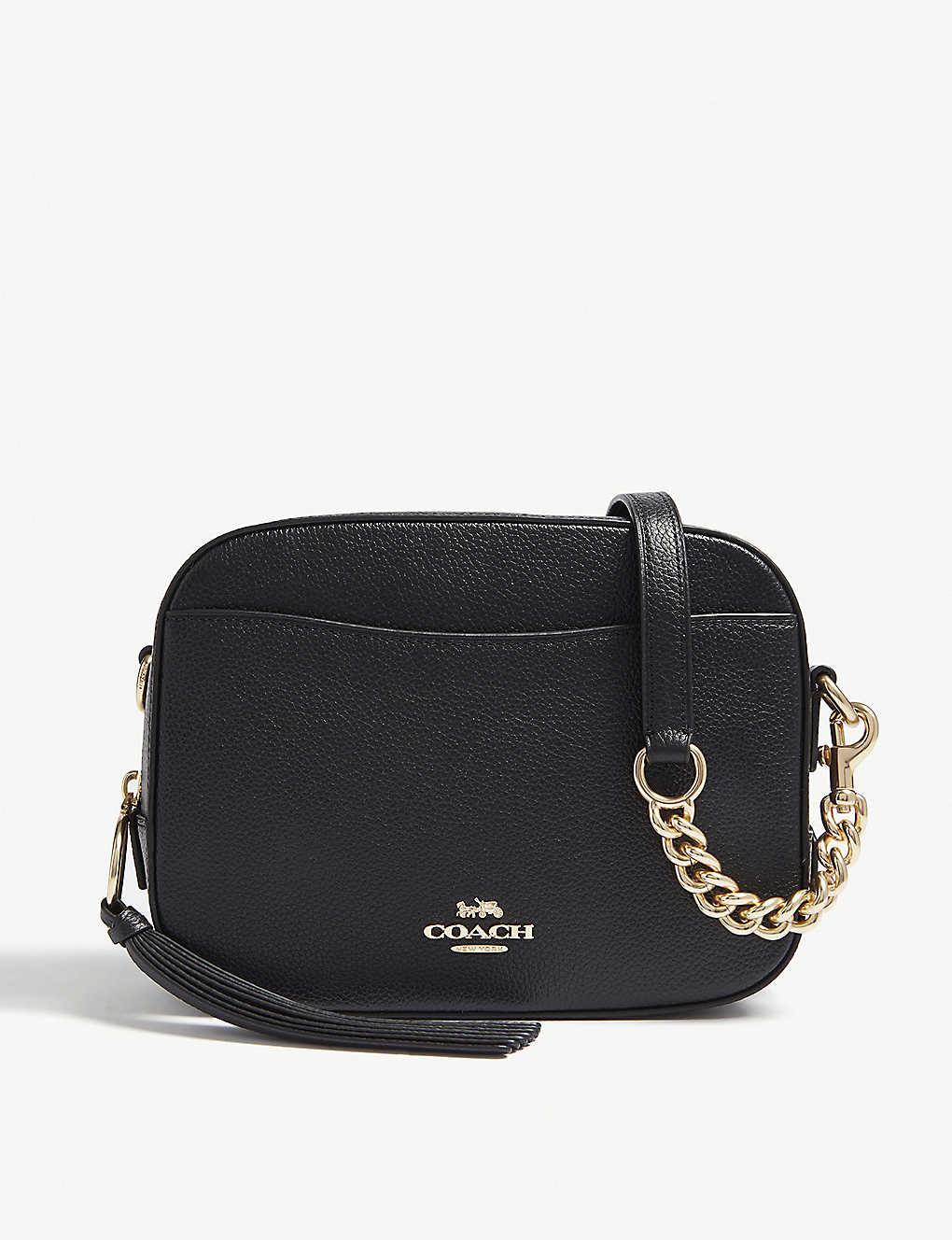152f569d1 COACH - Leather camera bag | Selfridges.com