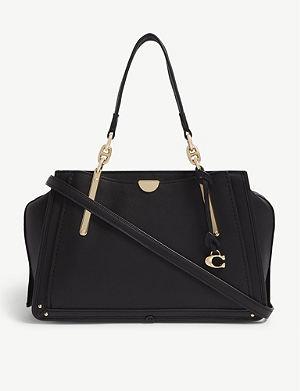 92d591a019 COACH - Rogue leather shoulder bag