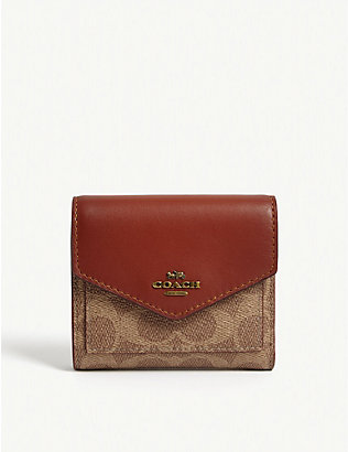 COACH: Leather wallet