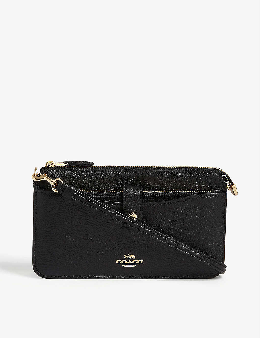 COACH: Leather cross-body bag