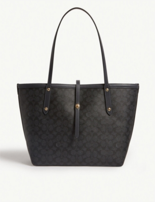 COACH Market leather tote