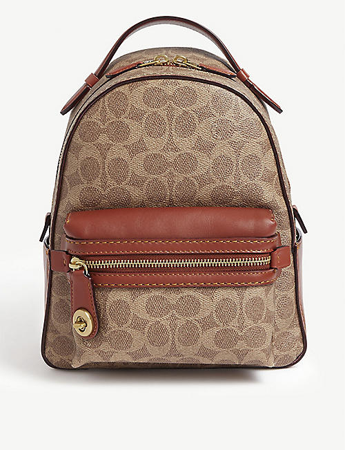 COACH Campus glovetanned leather backpack