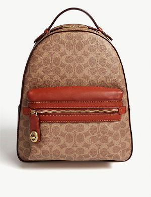 d71883eadbe4 COACH - Mini Parker leather backpack