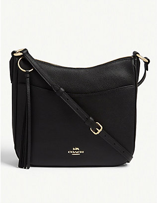 COACH: Chaise leather cross-body bag