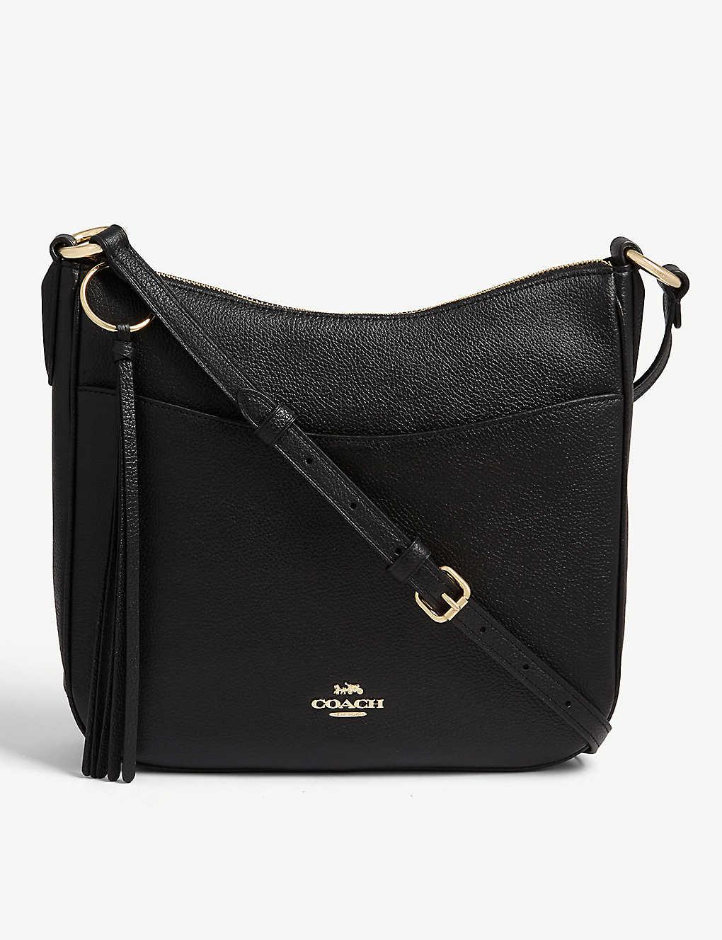 5f2a1b9c61977f COACH - Chaise leather cross-body bag | Selfridges.com