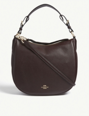 COACH Sutton leather hobo bag