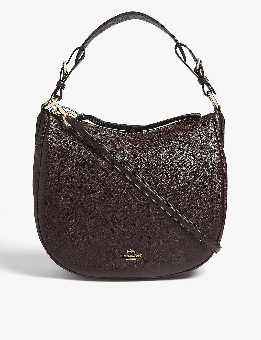 COACH: Sutton leather hobo bag