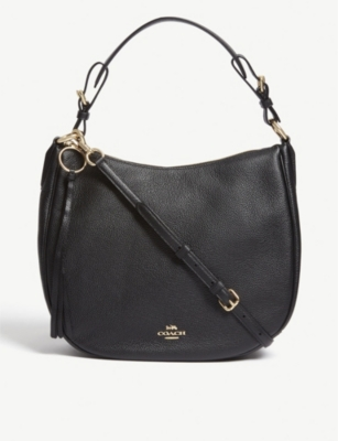 COACH Sutton leather shoulder bag