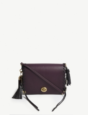 64a48edf COACH - Dinky 19 oversized charms leather cross-body bag ...