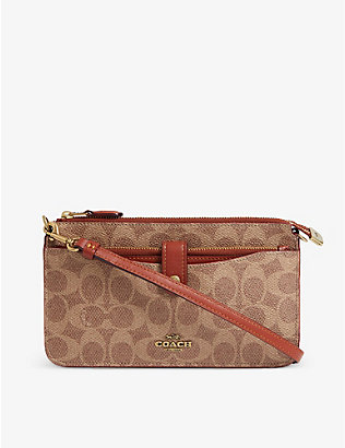 COACH: Pop-Up monogram messenger bag