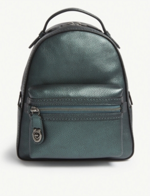COACH Campus leather small backpack