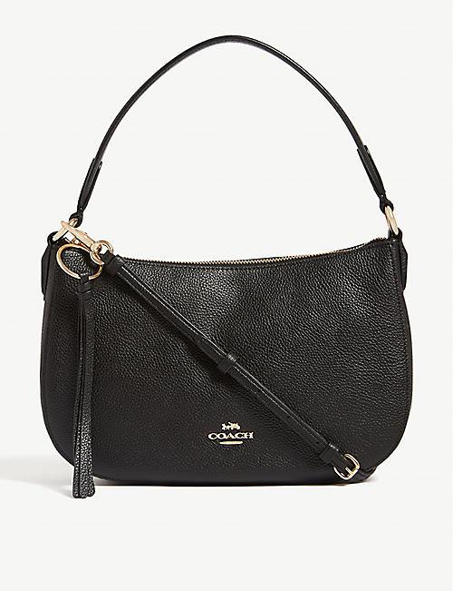 4d8520fe4cc COACH Sutton pebbled leather cross-body bag