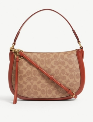 COACH Sutton coated canvas cross-body bag