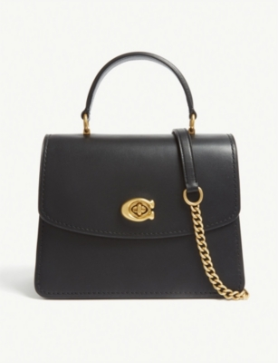 COACH Parker top handle bag