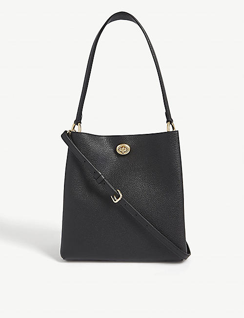 COACH Charlie leather bucket bag