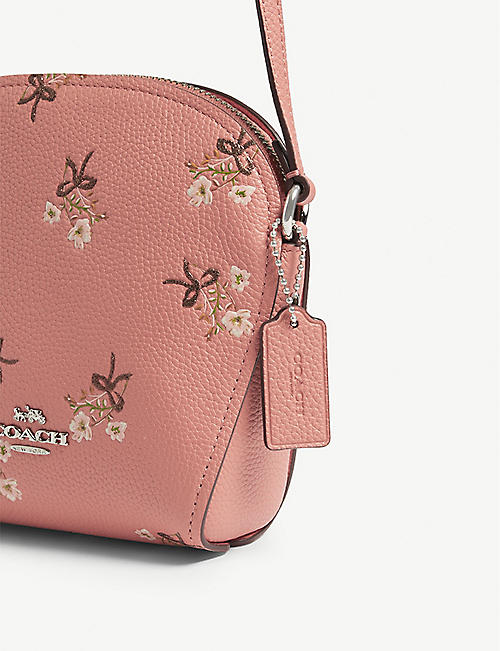 COACH Farrow floral cross-body bag