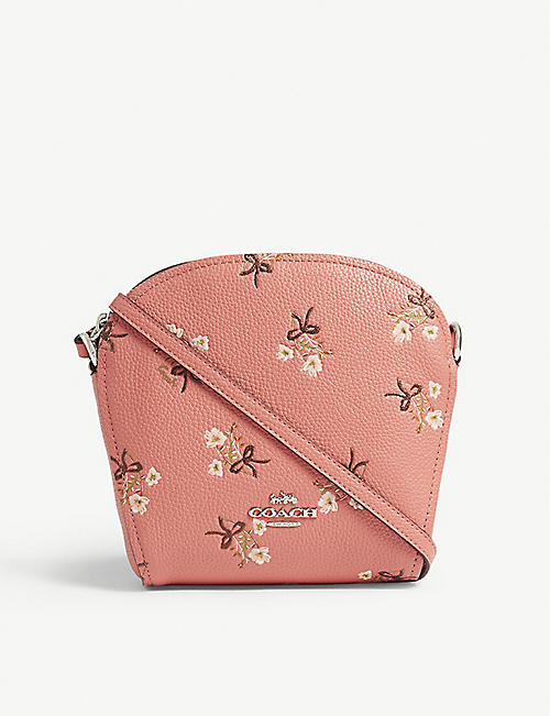 8a0d196d0a21 COACH Farrow floral cross-body bag