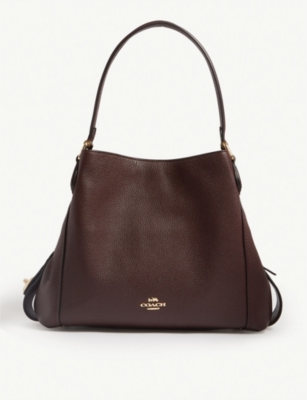COACH Edie leather shoulder bag