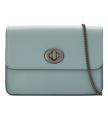 Coach Leathers Leather cross-body bag