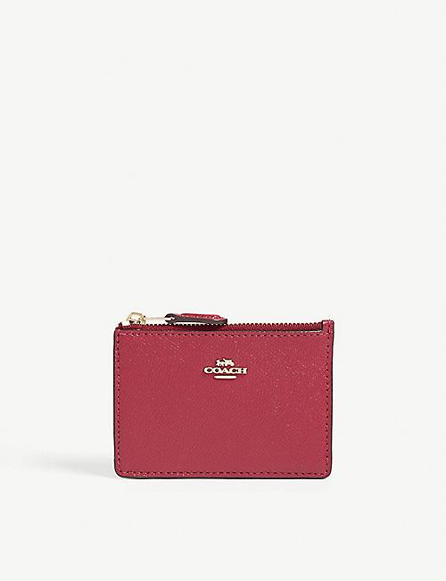 9491b0158c1 COACH Skinny mini leather card purse