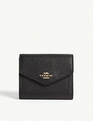 COACH Textured leather wallet
