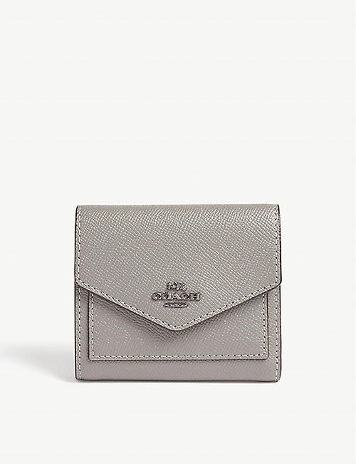 COACH Small textured leather wallet