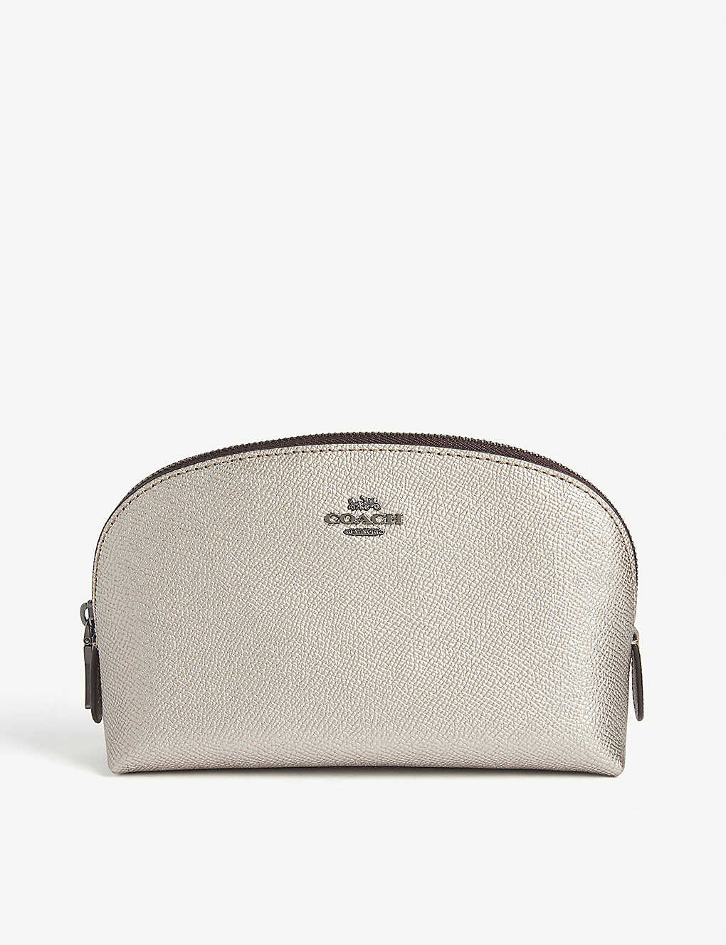 COACH: Leather cosmetic case