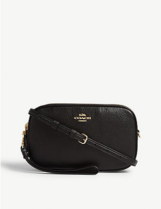 COACH: Sadie leather cross-body bag