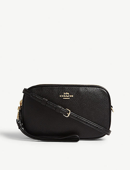 COACH Sadie leather cross-body bag