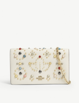 COACH Studded clutch
