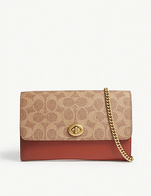 COACH Marlow coated canvas cross-body bag