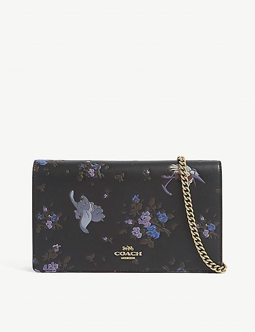 cb5b0f6769b COACH Callie Disney leather wallet