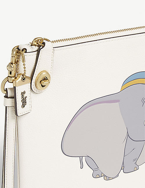 COACH Disney Dumbo leather pouch