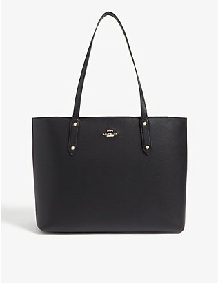 COACH: Pebbled leather tote