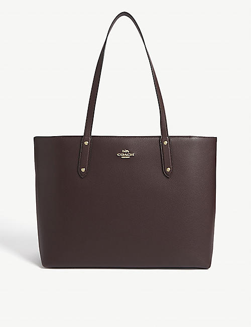 COACH: Central leather tote